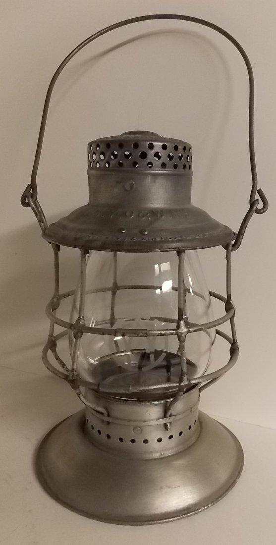 Ontario & Western Railroad Lantern BB O&W Globe - 2