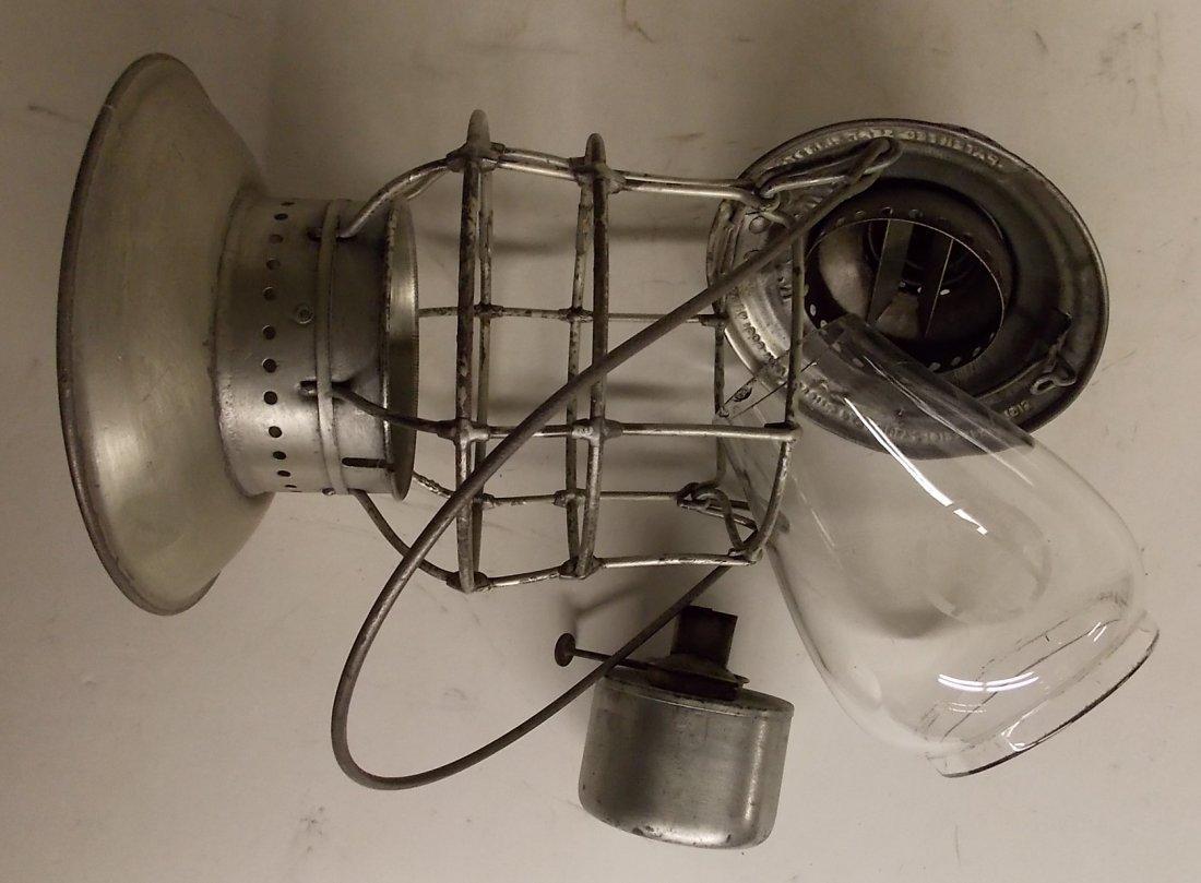 Ontario & Western Railroad Lantern BB O&W Globe - 8