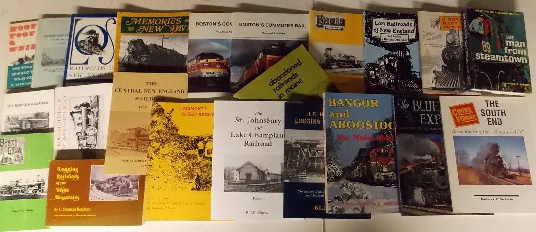 New England based Railroad Books (22)