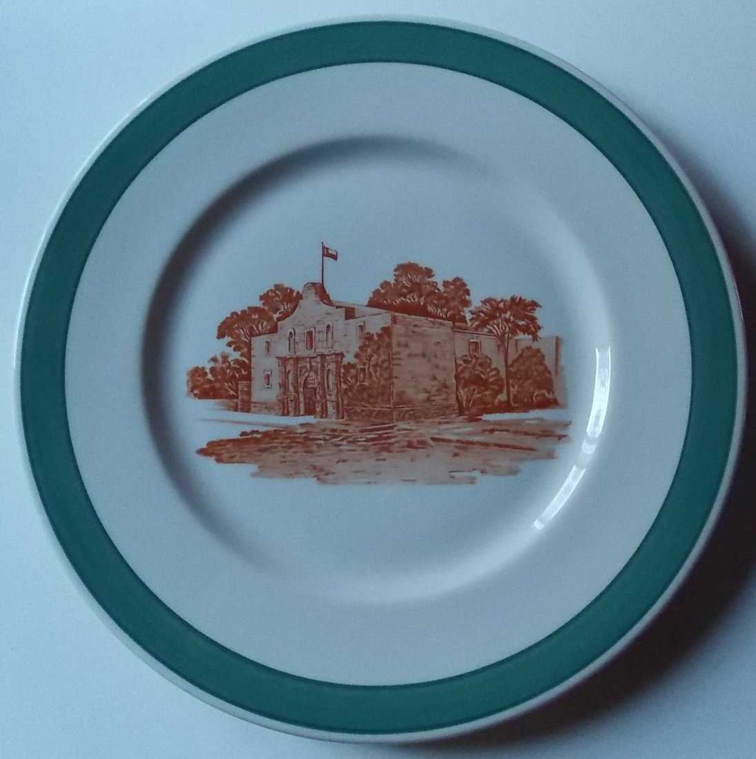 MK&T Green Alamo Service Plate – Katy
