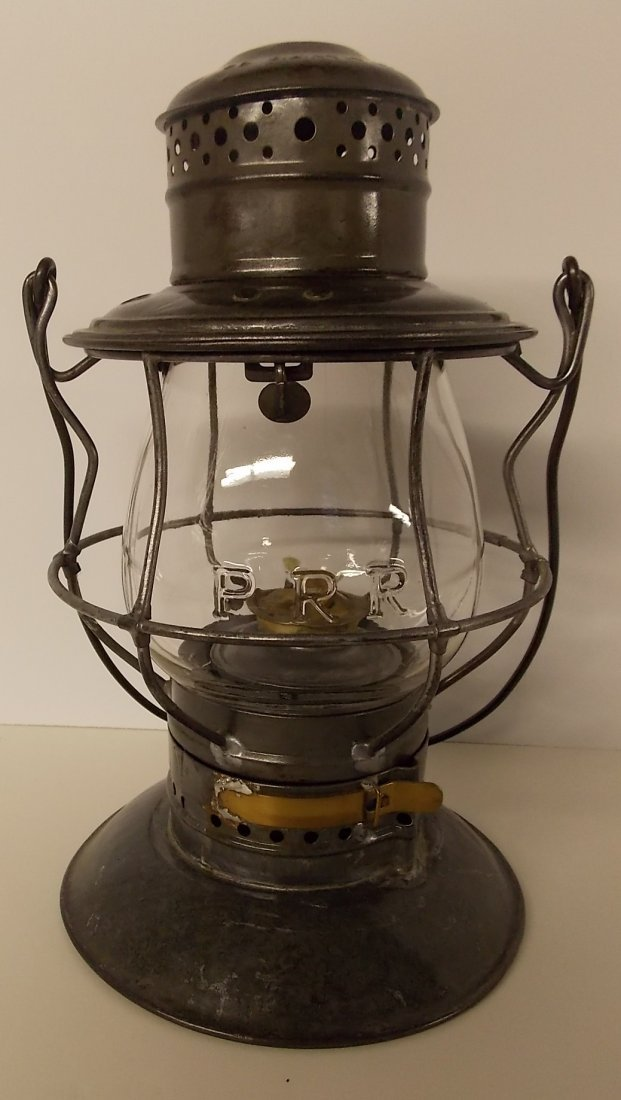 Pennsylvania Railroad Lantern Bellbottom CC Globe