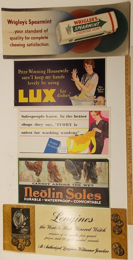 Transit / Trolley Advertising Posters (5)