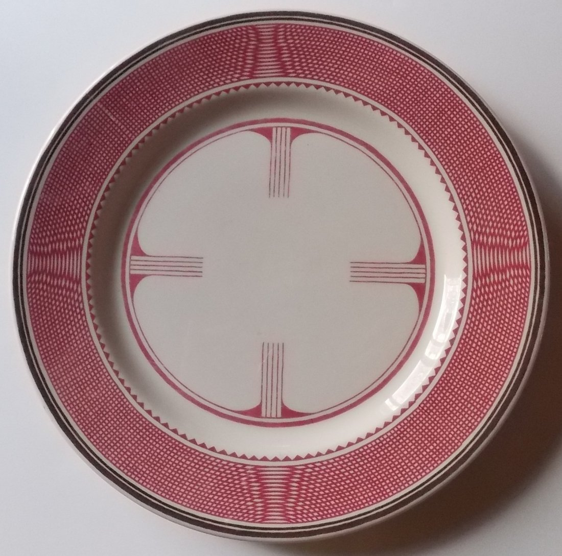 Santa Fe Railway – Mimbreno Dinner Plate