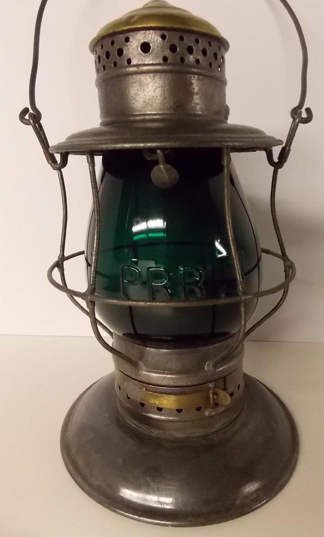 Pennsylvania Railroad Lantern BTBB Green Cast