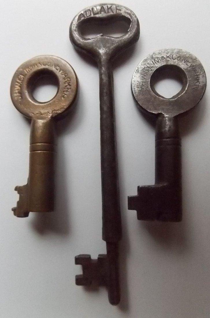 Boston & Albany Railroad (3) Keys Switch & Coach - 2