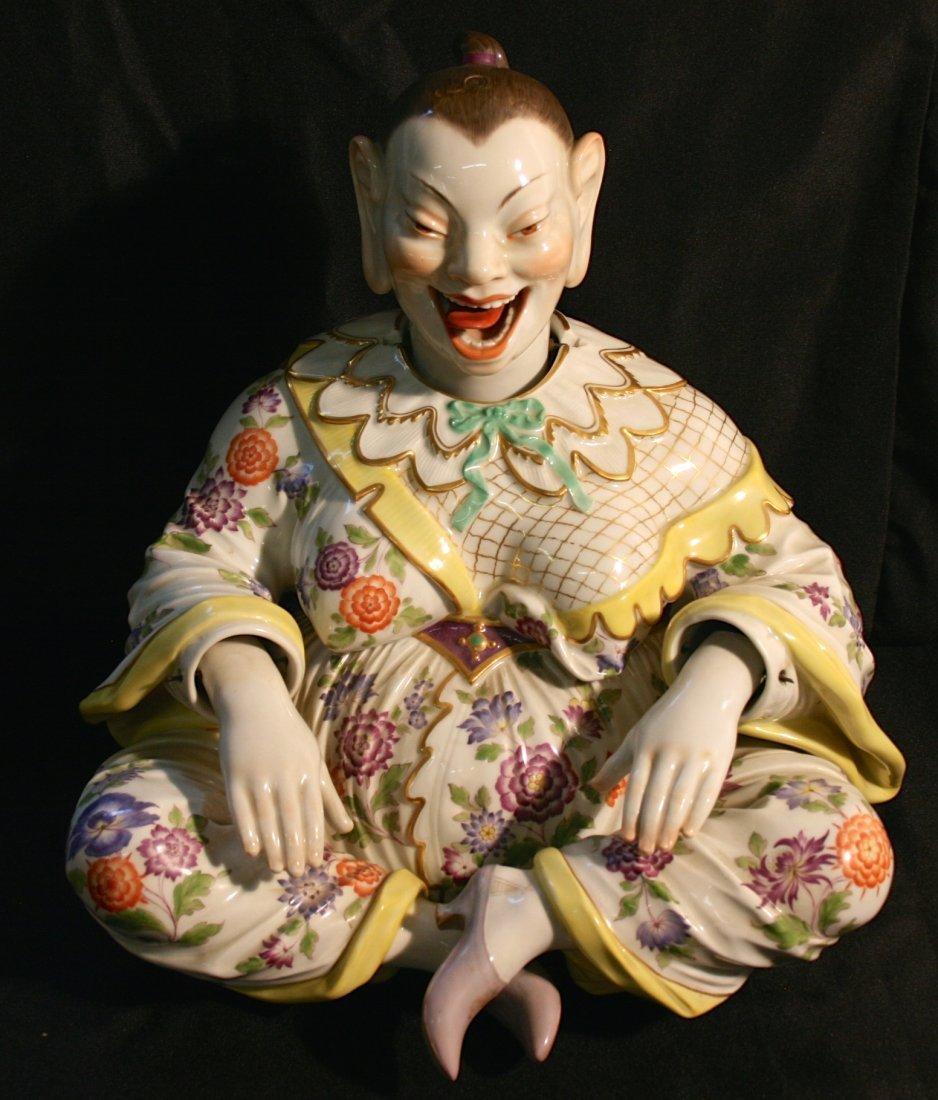 Rare Meissen Buddah, Female