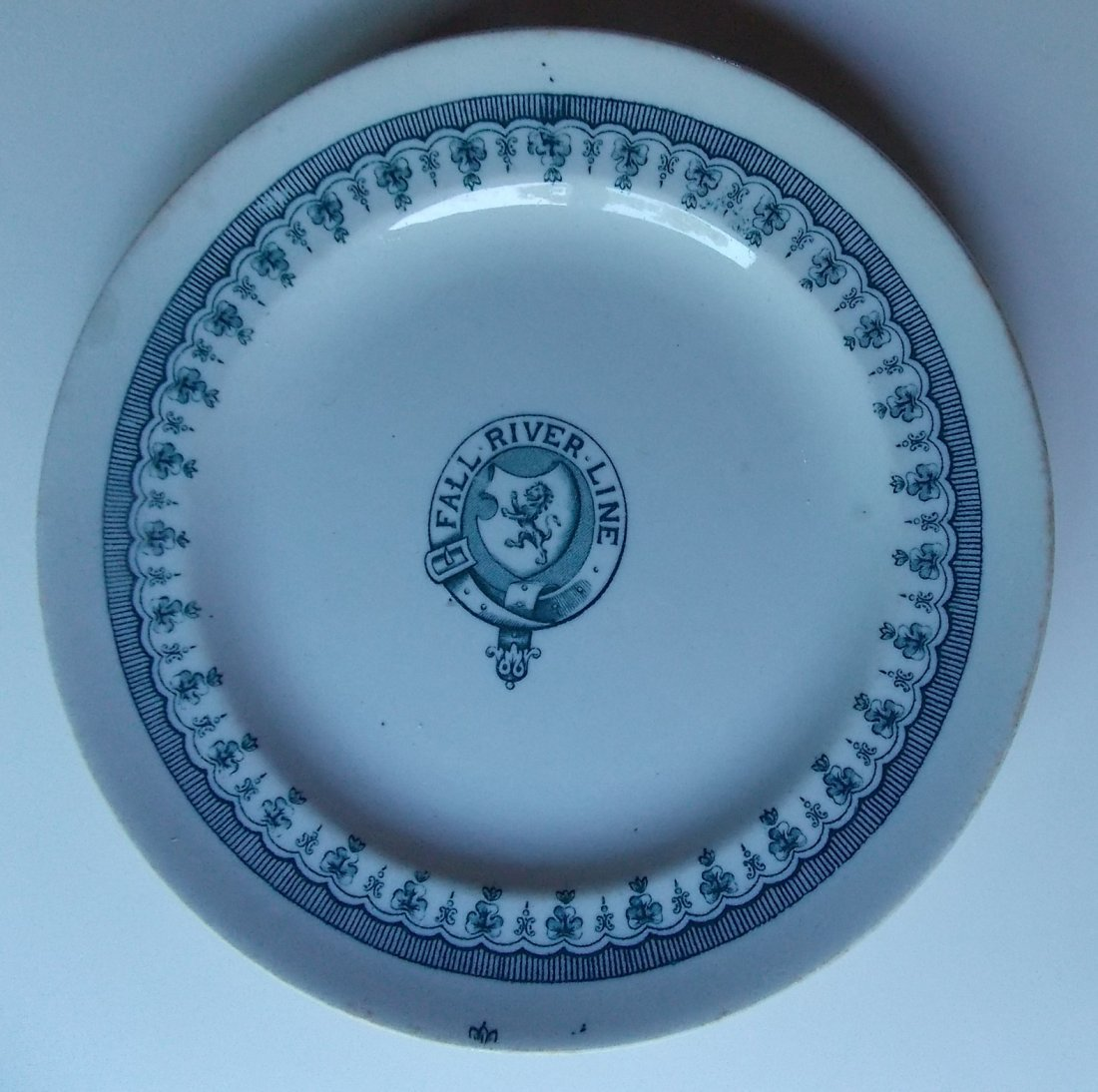 Fall River Line Steamship China Plate