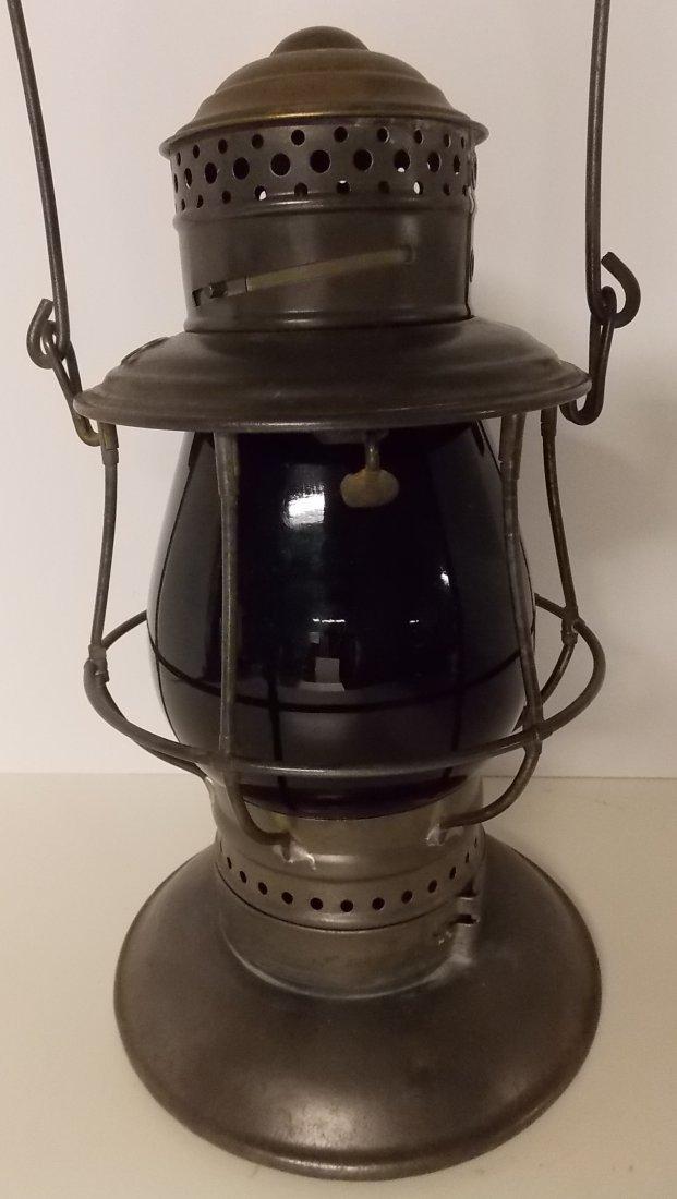 Central Vermont Railroad Brasstop Lantern