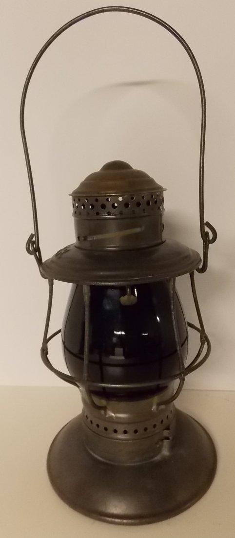 Central Vermont Railroad Brasstop Lantern - 2