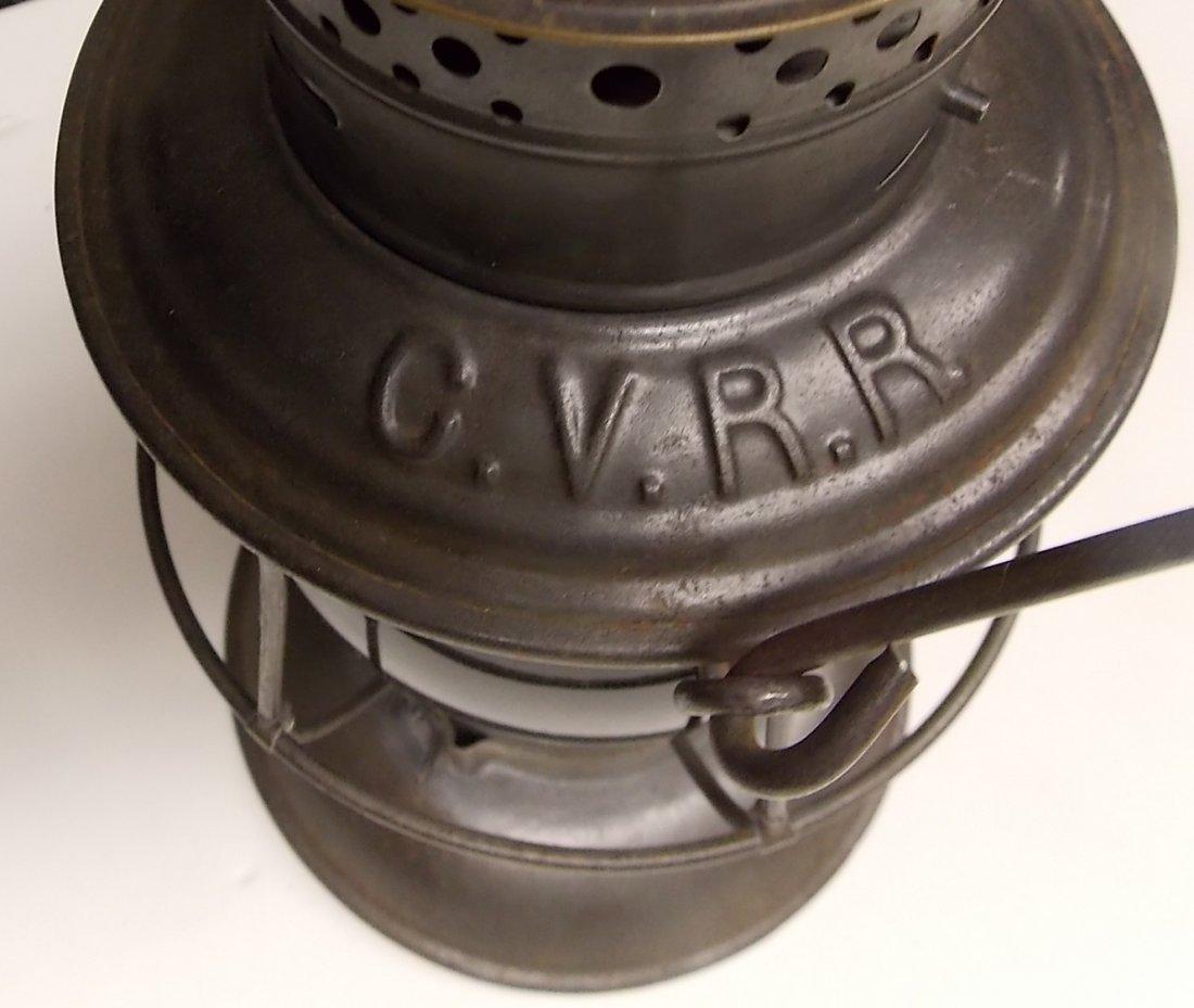 Central Vermont Railroad Brasstop Lantern - 4