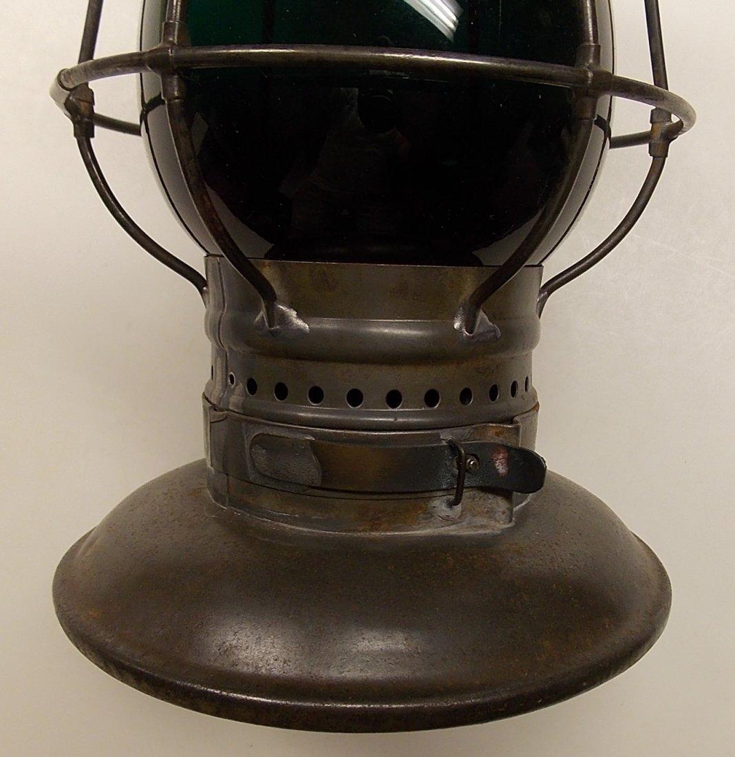 Central Vermont Railroad Brasstop Lantern - 6