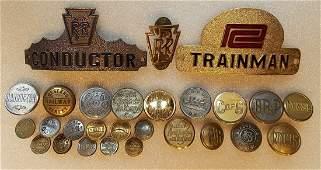 Railroad  Street Railway Employee Uniform Items