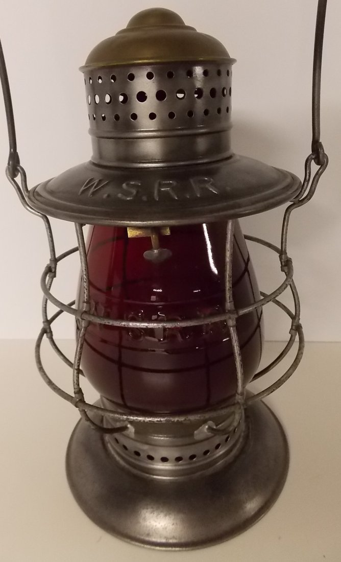 West Shore Railroad Brasstop Lantern RC Globe