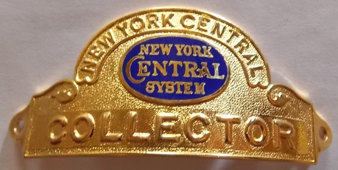 New York Central System Collector Hat Badge