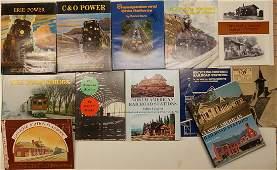 Railroad Books approx 24