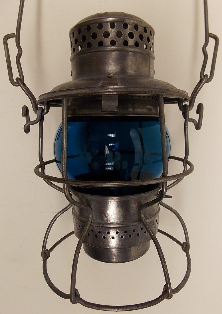 Pennsylvania Railroad Lantern Green Etch