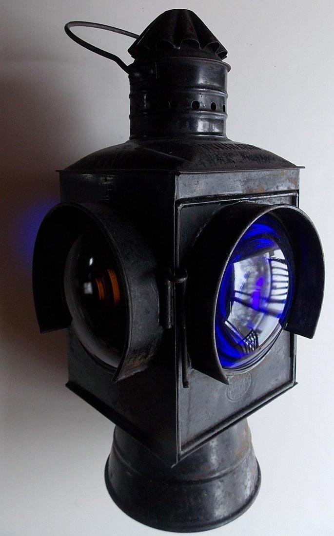 New Haven Peter Gray Switch Lamp - Old Square Body
