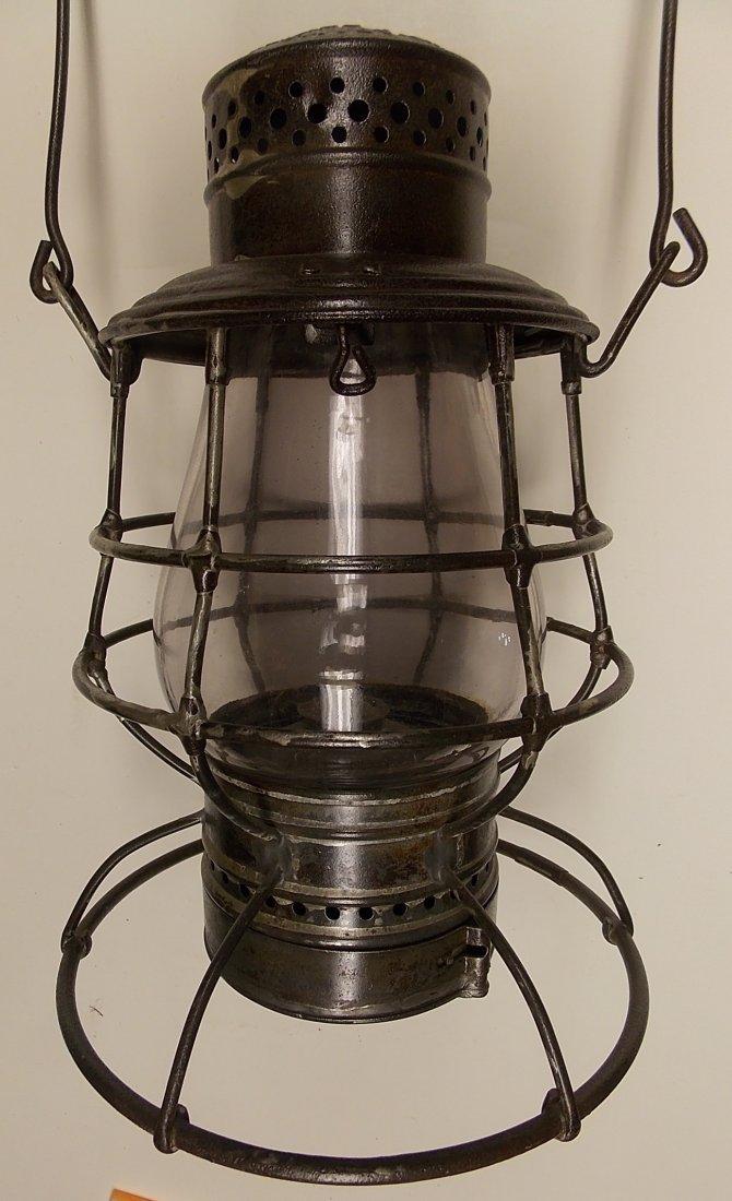 """CNRR 6"""" Railroad Lantern A&W Twist Off Pot Canada"""