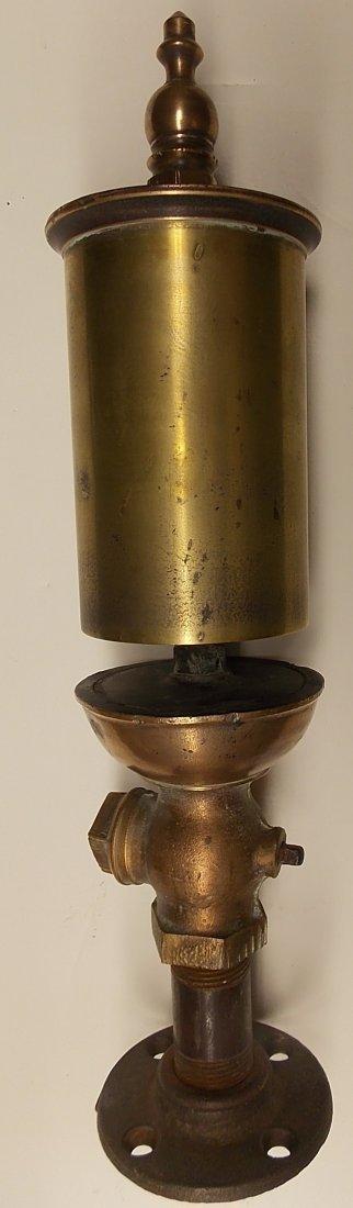 """Brass Whistle 3 1/2"""" Diameter"""