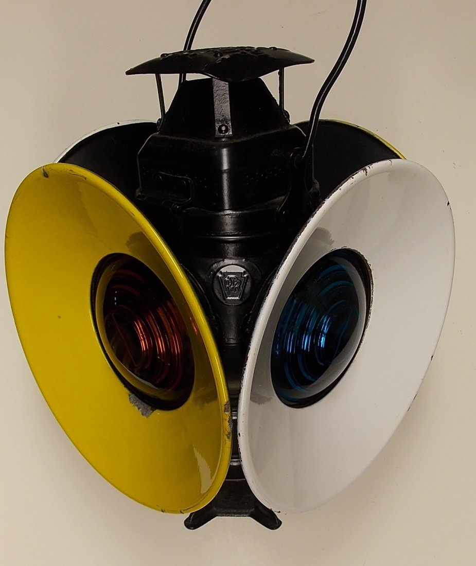 Pennsylvania Railroad Adlake Switch Lamp
