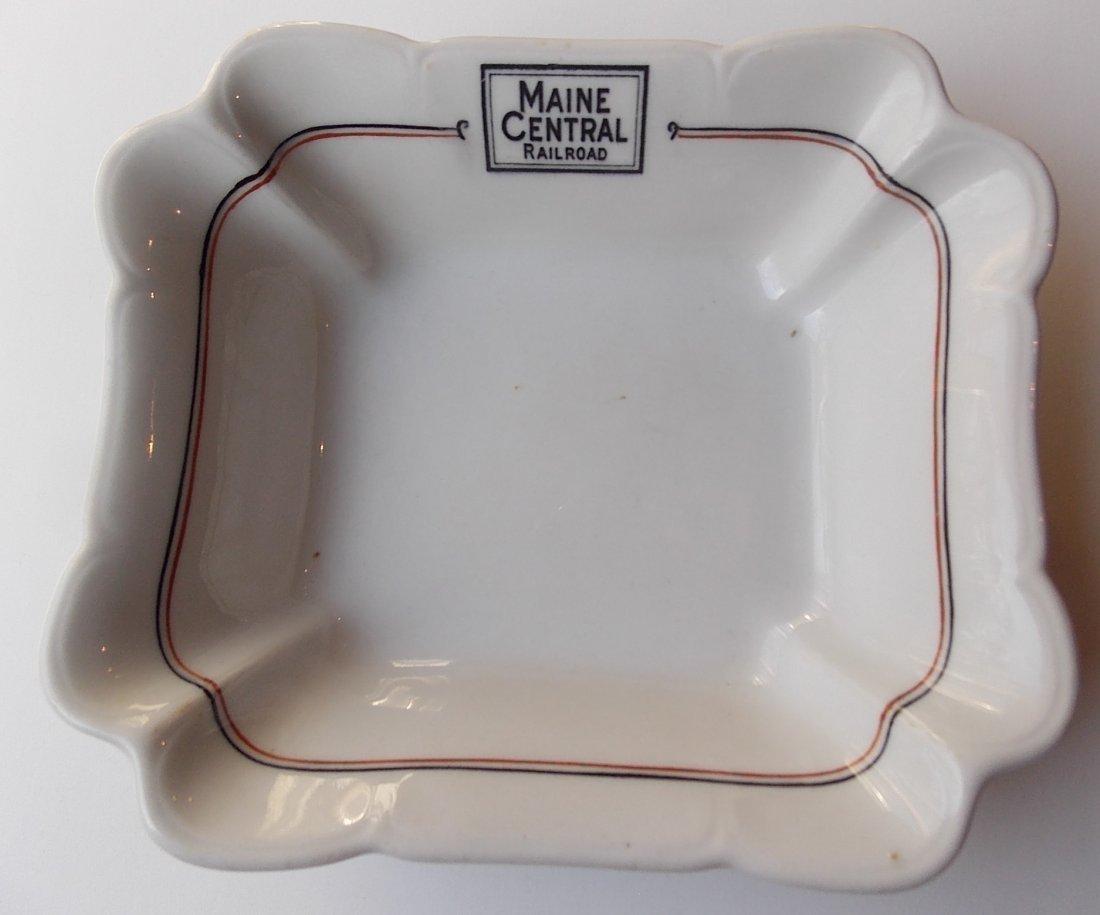 "Maine Central ""Bangor"" Pattern China Dish"