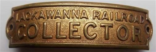 Lackawanna Railroad Collector Hat Badge