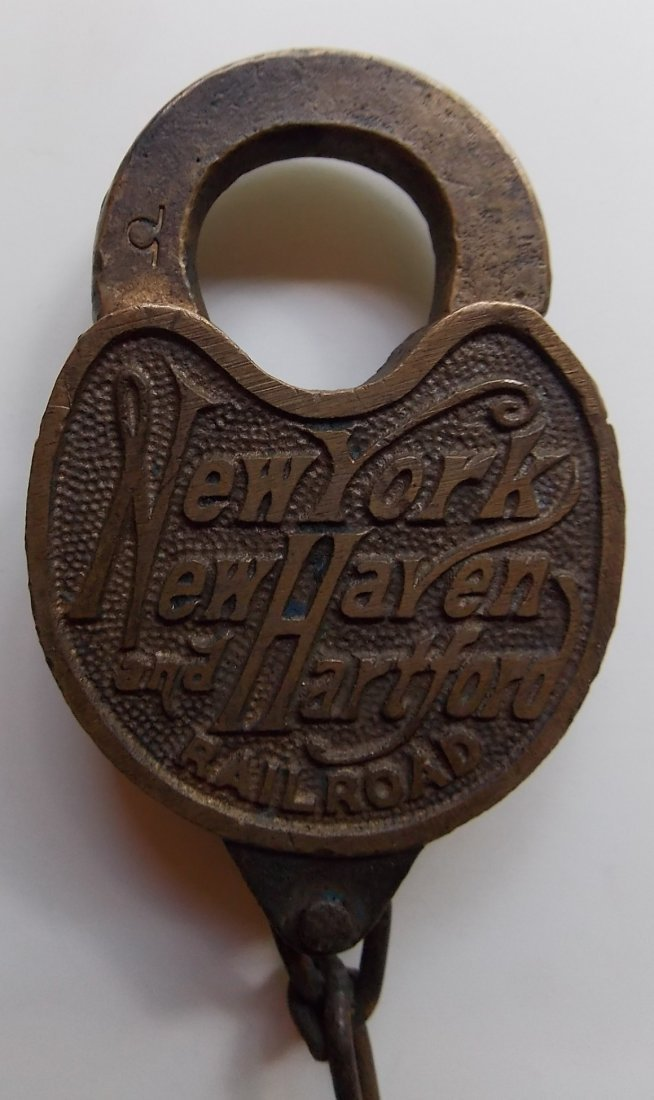 New Haven Cast Script Brass Lock