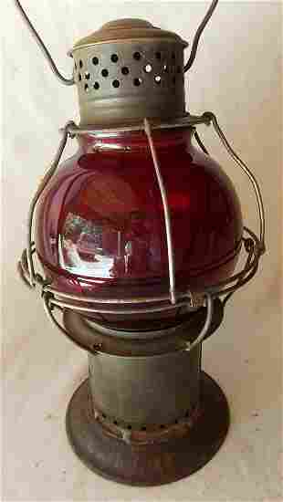 Early Pat Appl For Red Globe Lantern