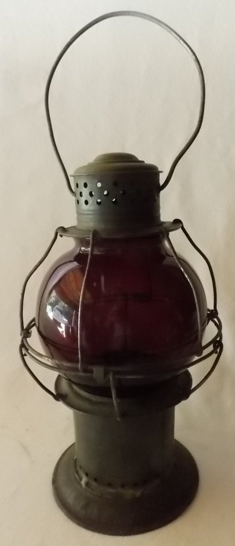 Early Pat Appl For Red Globe Lantern - 2