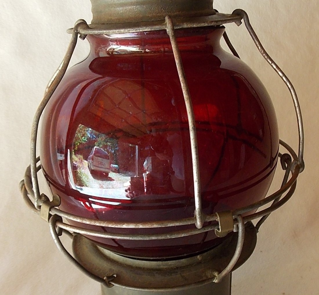 Early Pat Appl For Red Globe Lantern - 8