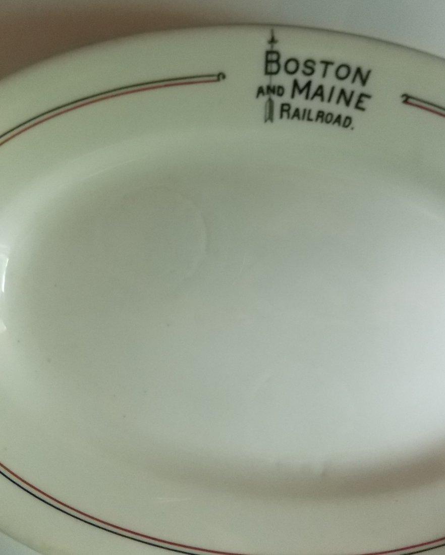 Boston & Maine Railroad China Platter - 2