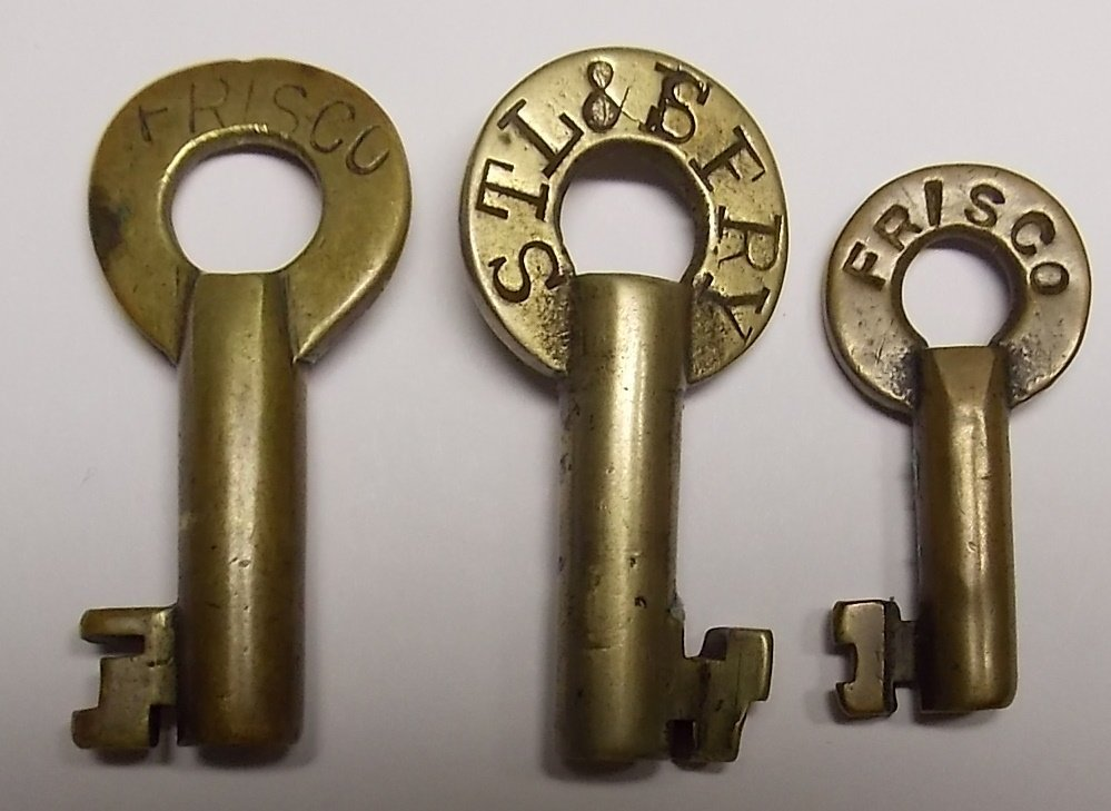 Frisco Brass Keys - 3