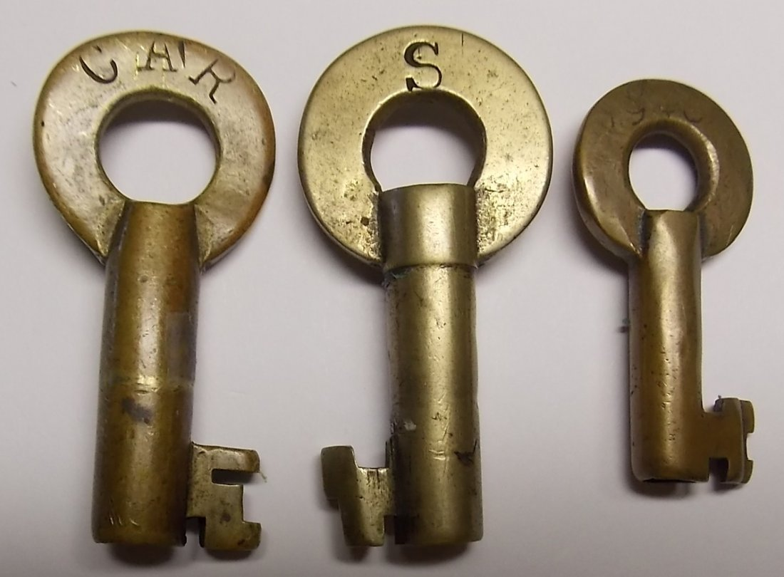 Frisco Brass Keys - 3 - 2