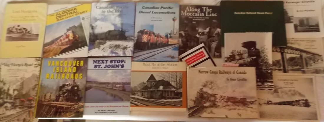 Canadian Railway Books 16