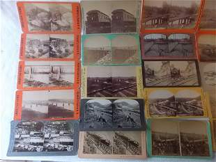 Stereo View Cards Eastern States - 42