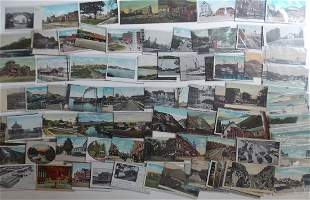 Connecticut, Rhode Island, NH Postcards (130)