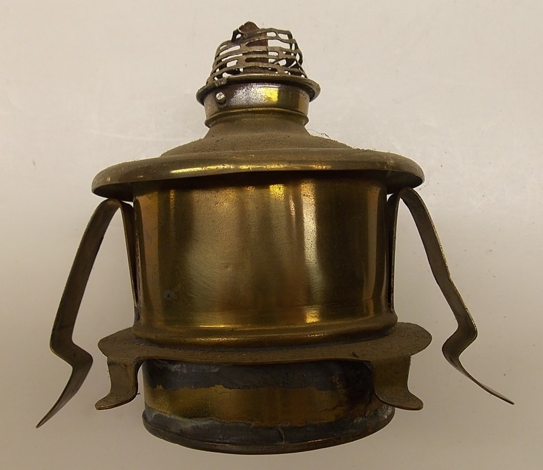 Howard & Morse 1870 patent Brass Lantern - 5