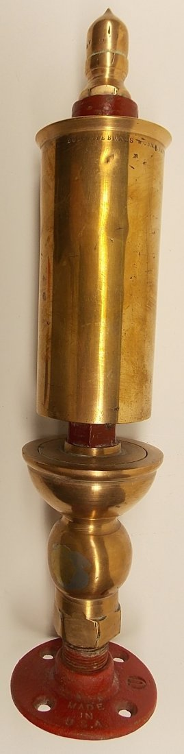 """Buckeye Brass Steam Whistle 2 1/2"""""""
