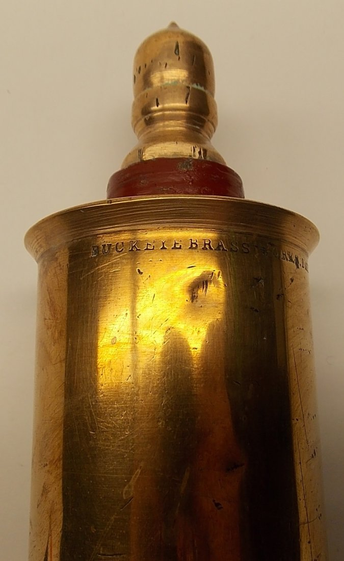 """Buckeye Brass Steam Whistle 2 1/2"""" - 2"""