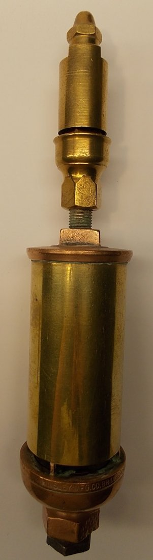 Kinsley 4 Chamber Brass Whistle 2""