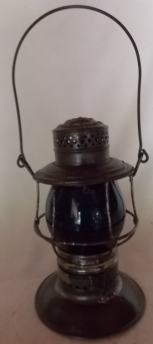 Pennsylvania Railroad Bellbottom Lantern Green - 2