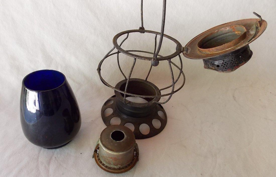 Brady Patent BTBB Lantern Blue Globe - 3