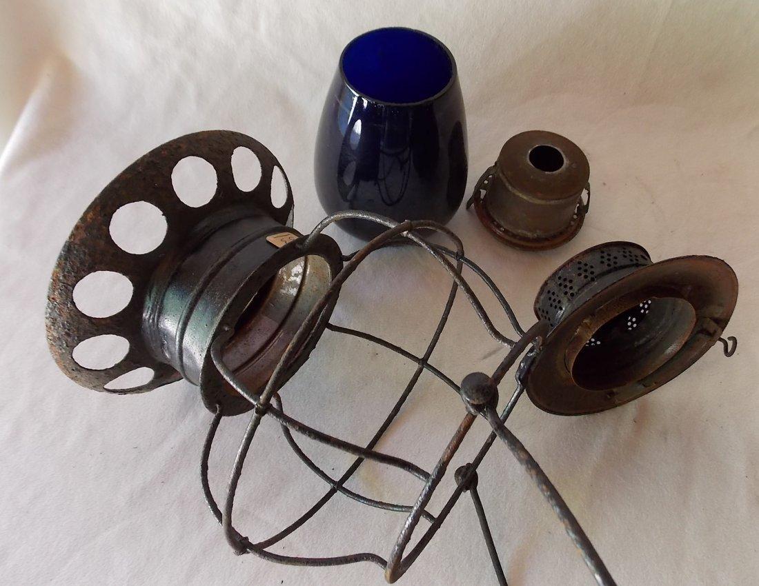 Brady Patent BTBB Lantern Blue Globe - 4