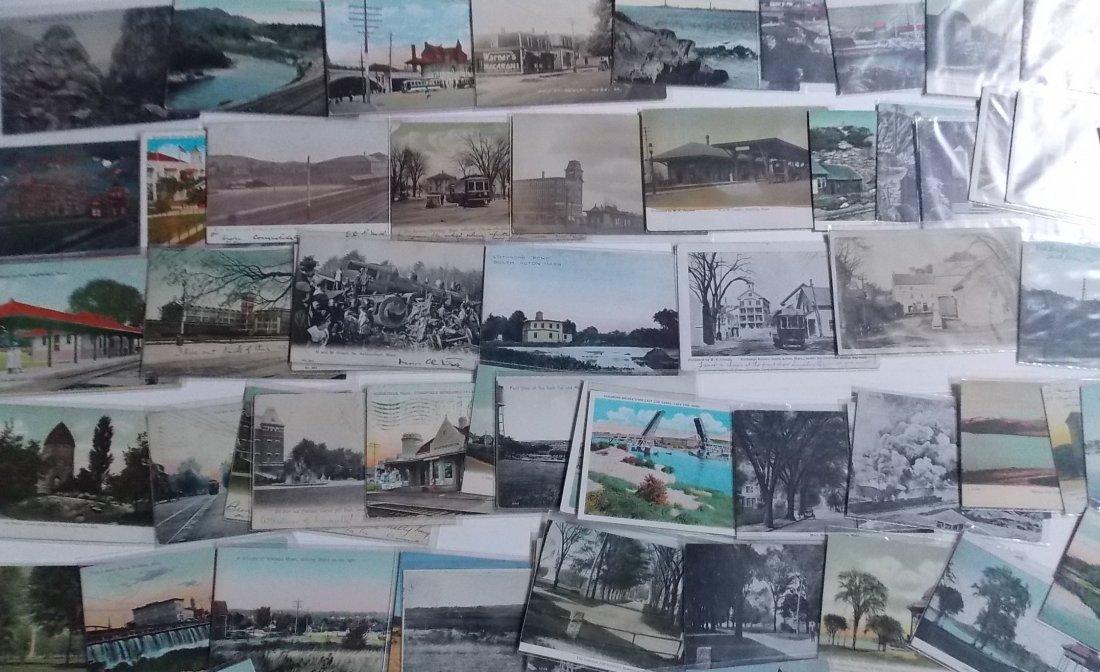 Massachusetts Postcards (150) - 2