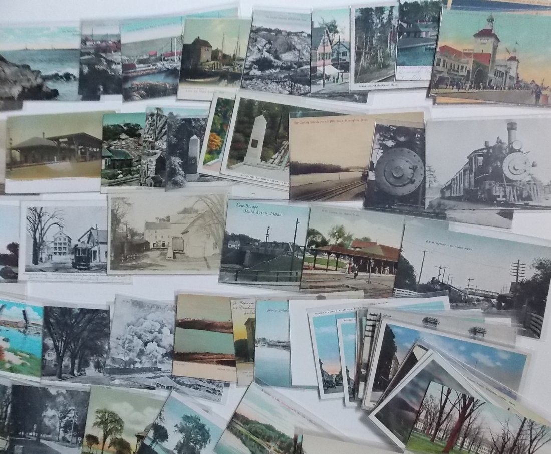 Massachusetts Postcards (150) - 3