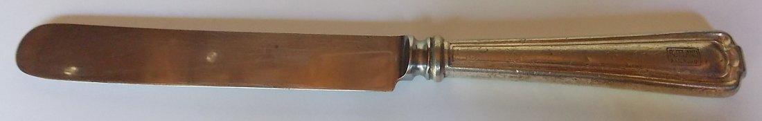 Rutland Railroad Silver Knife