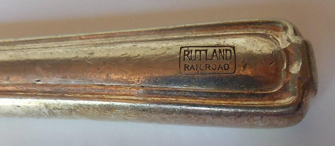 Rutland Railroad Silver Knife - 2