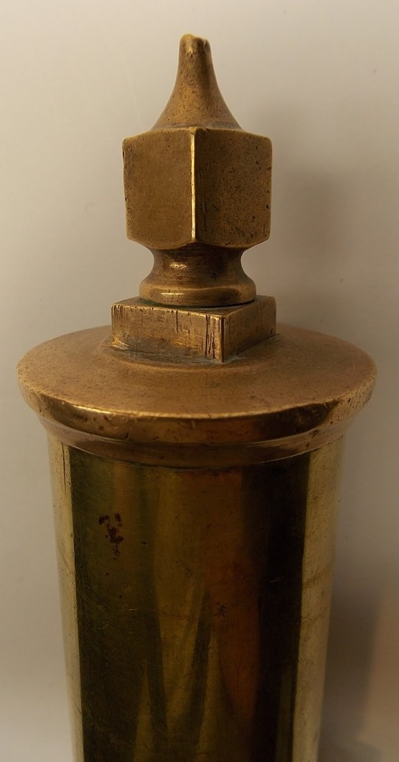 "4 Chamber Brass Steam Whistle 2"" - 3"