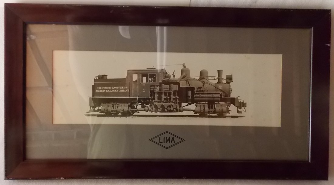 Lima Shay Locomotive Photo Logging in Ohio