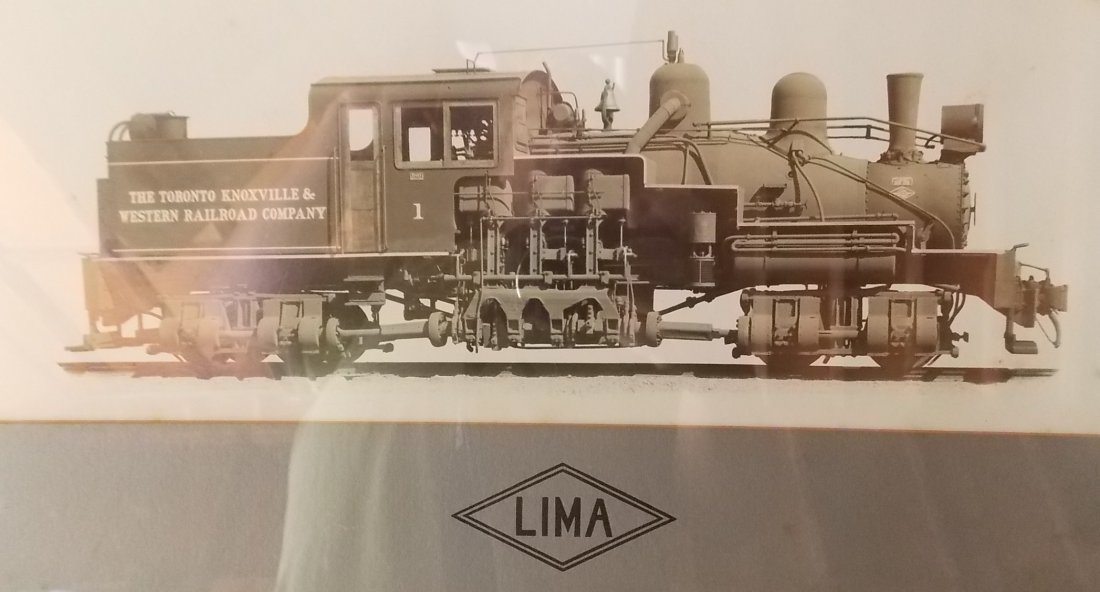 Lima Shay Locomotive Photo Logging in Ohio - 2